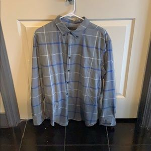 Banana republic Luxe Flannel, Grant fit, size xl